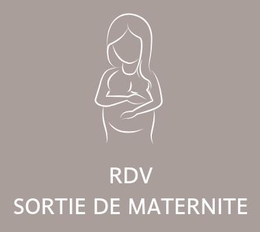 RDV sortie de maternité pharmacie lansargue