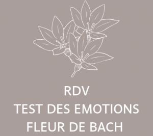 pharmacie lansargues prise de RDV TEST DES EMOTIONS FLEUR DE BACH