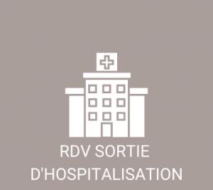 rdv sortie hospitalisation